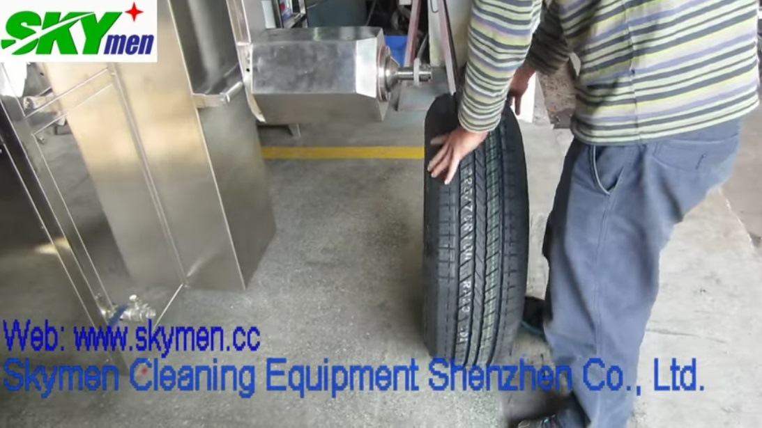 Skymen car tyre ultrasonic cleaning machine